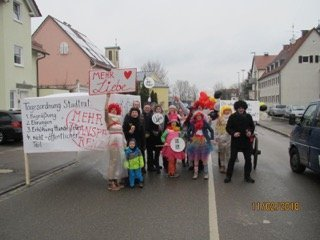 Impressionen Vom Lauinger Faschingsumzug Soziale Stadt